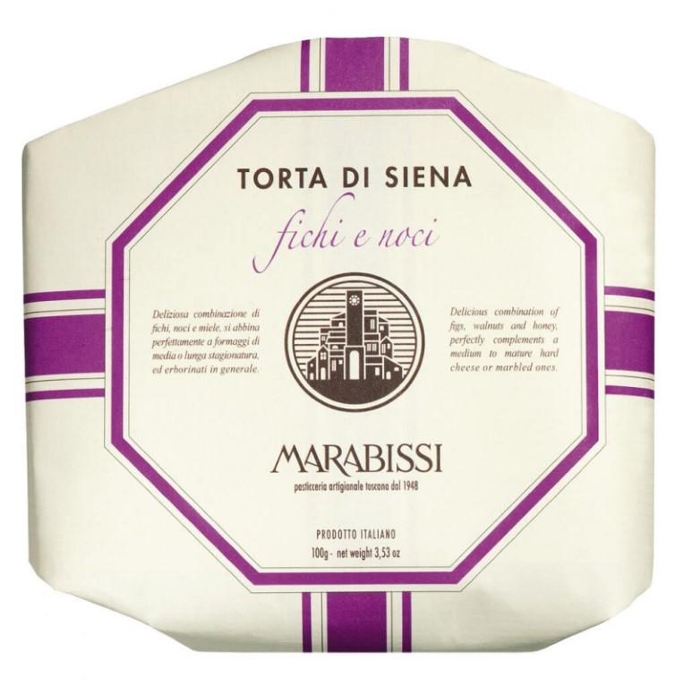 MARABISSI Torta Fichi & Noci 100g