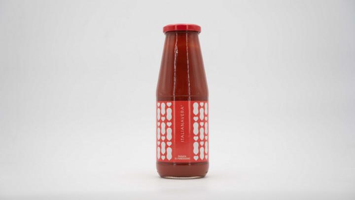 ITALIANAVERA Classic Passata in Glass Bottle 680g