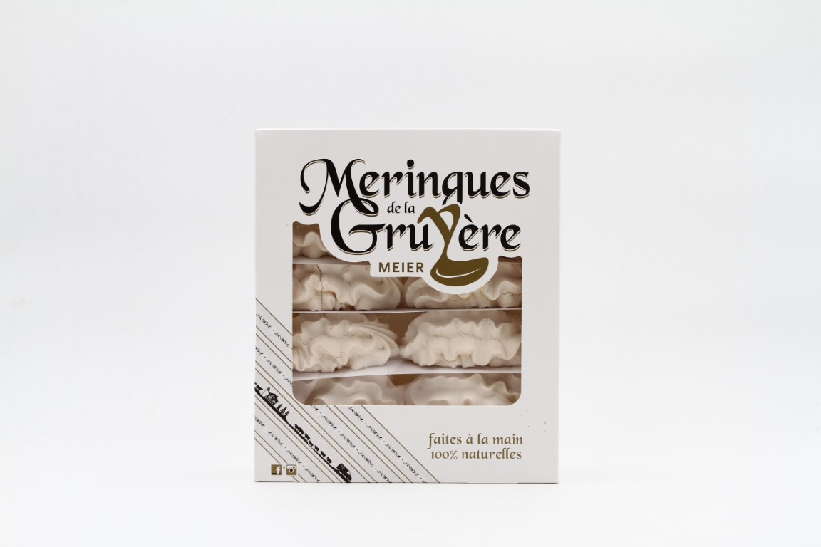MEIER Meringues Nature - 12 pcs