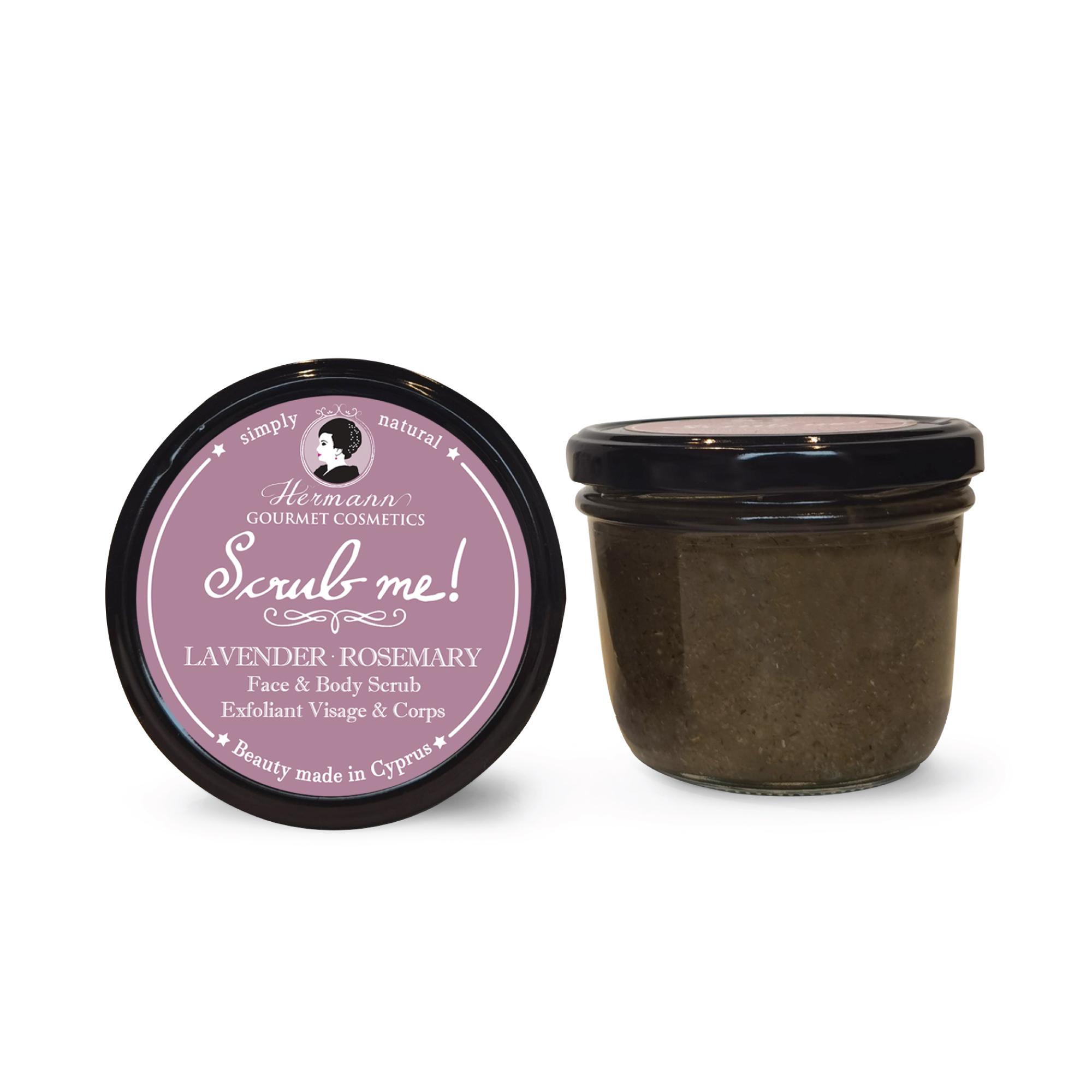 SCRUB ME Lavender Rosemary Face & Body Scrub