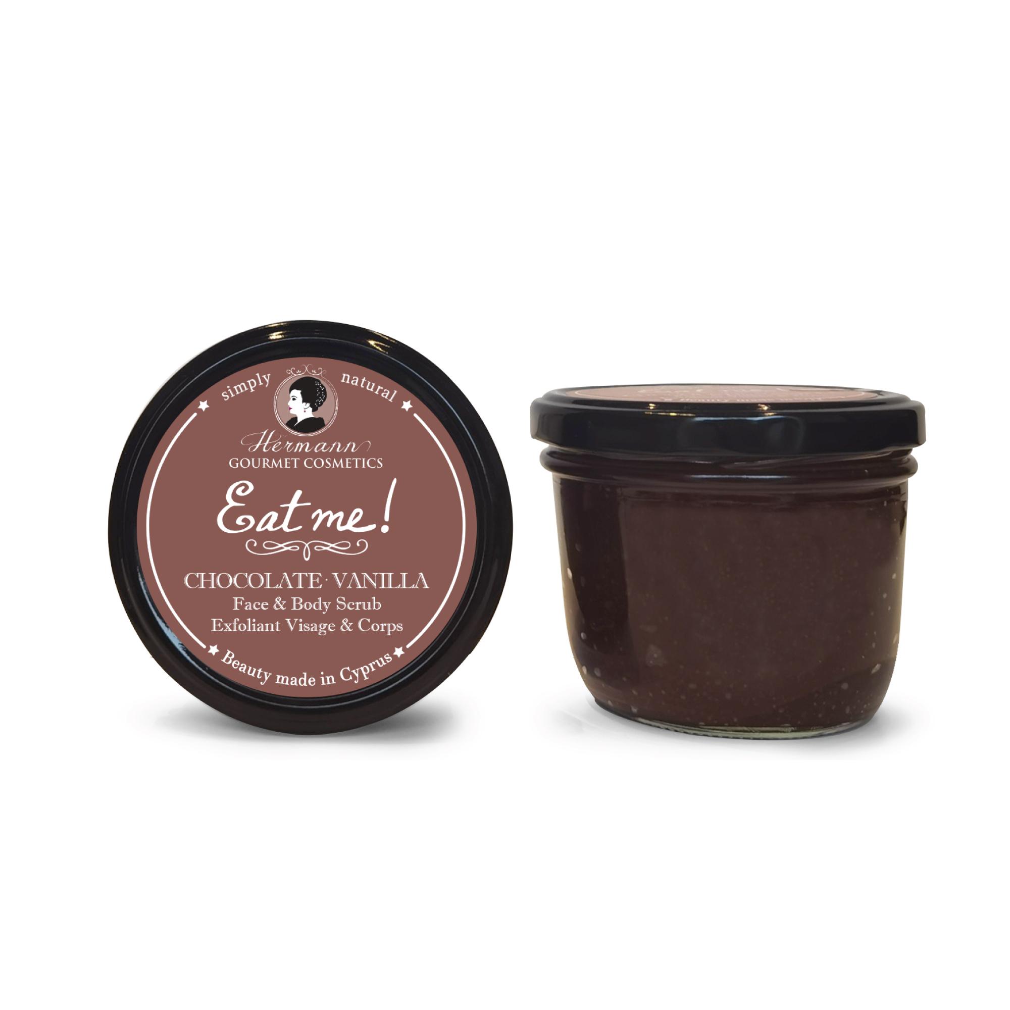 EAT ME Chocolate Vanilla Face & Body Scrub
