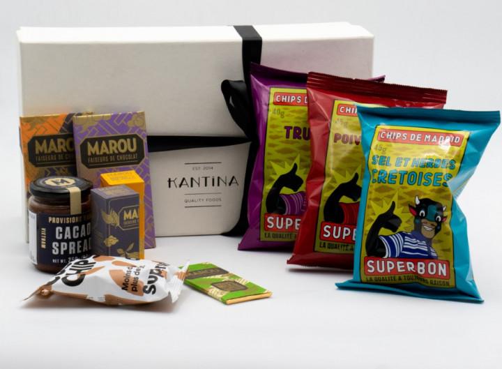 The snacker's gift box