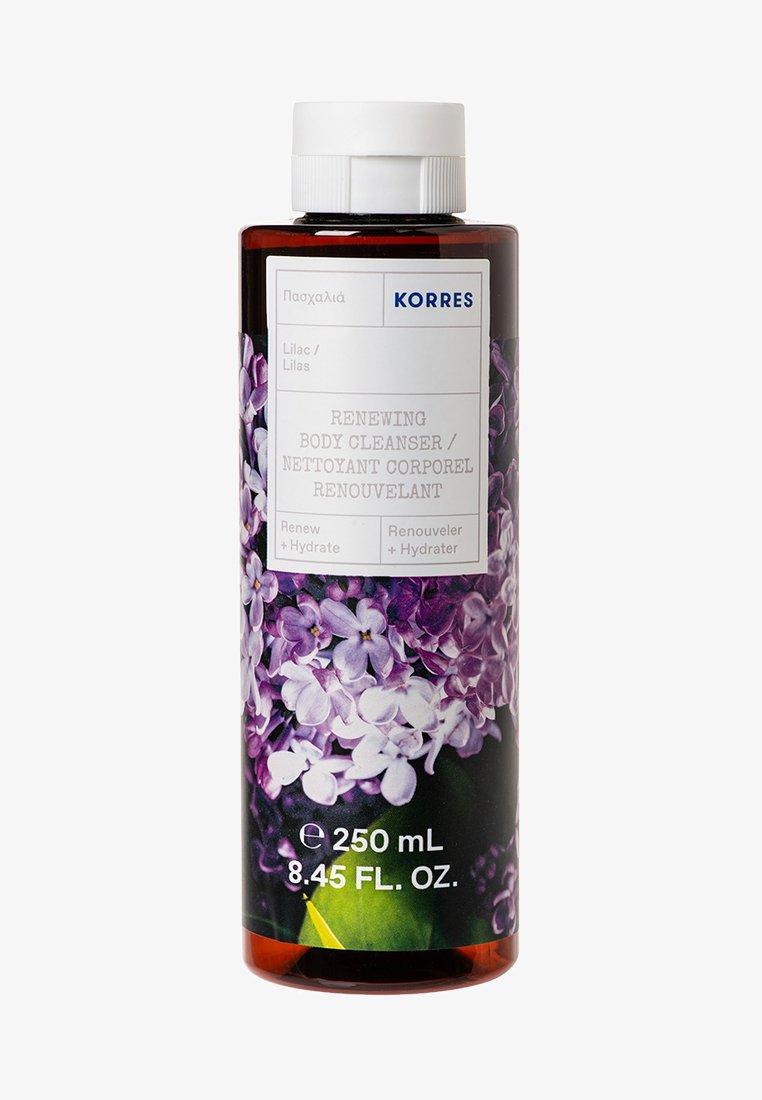 Korres - Renewing body cleanser lilac Αφρόλουτρο με άρωμα Πασχαλιάς