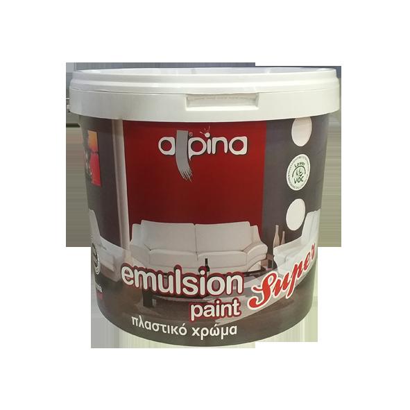 ALPINA SUPER EMULSION PAINT 9 LITER (INTERIOR USE)