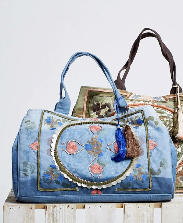 Boho Bag Mini Dip Blue