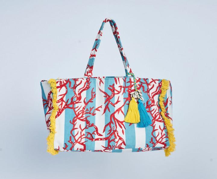 Coral Beach Bag