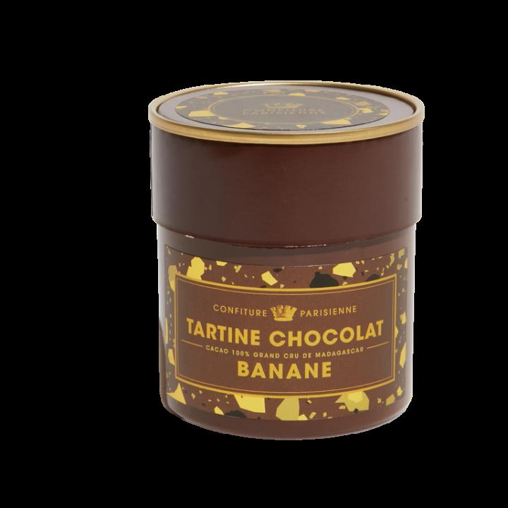 CONFITURE PARISIENNE TARTINE CHOCOLAT BANANE 250G