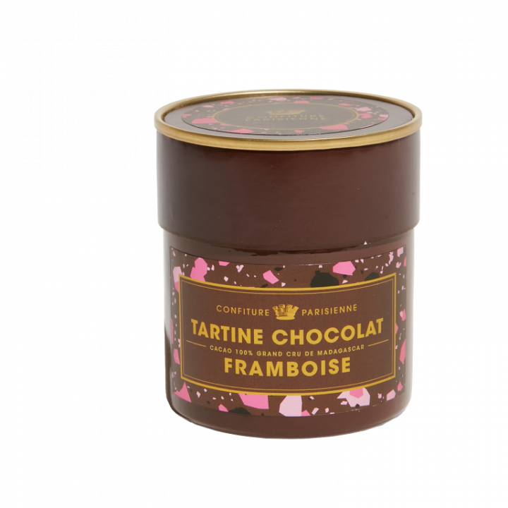 CONFITURE PARISIENNE TARTINE CHOCOLAT FRAMBOISE 250G