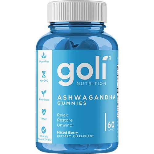 GOLI ASHWAGANDHA GUMMIES 60