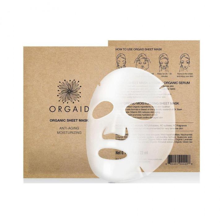 Orgaid Sheet Antiaging Single Mask