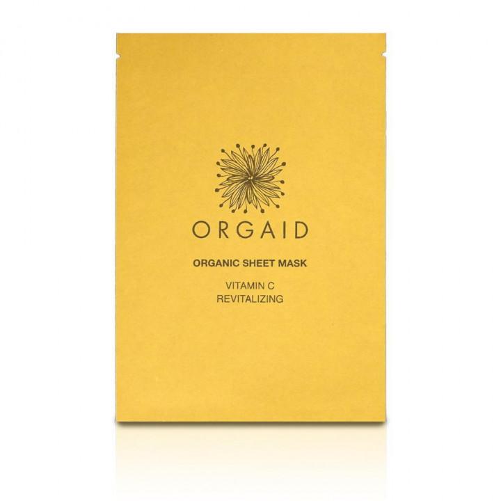 Orgaid Sheet Revitalizing Single Mask