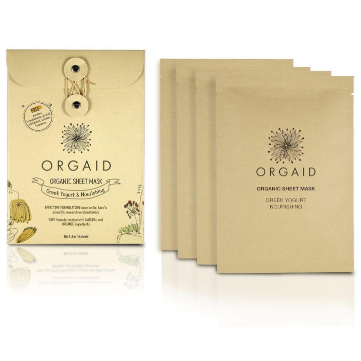 Orgaid Sheet Nourishing Single Mask