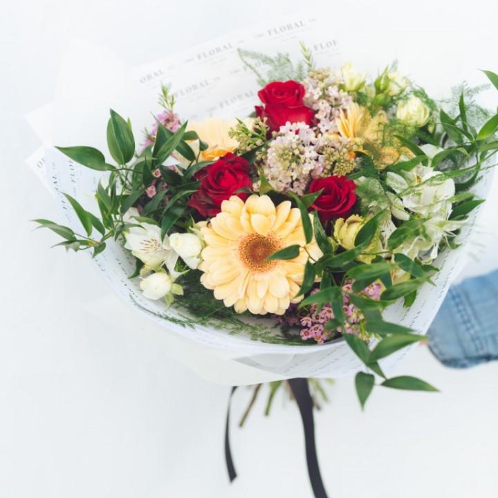 Colorful Flower Bouquet 50cm - 70cm