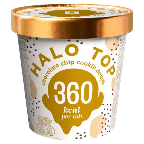 Halo top choco chip cookie 473ml