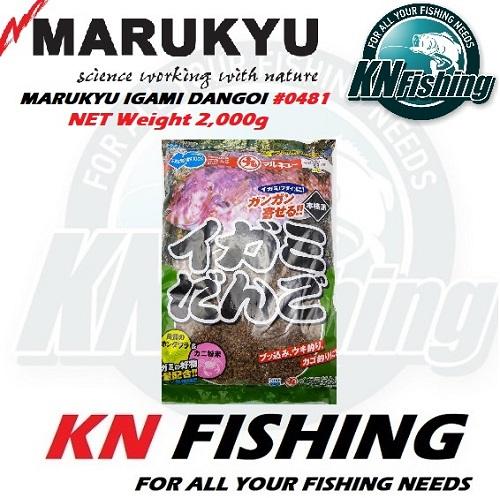 MARUKYU IGAMI DANGO #0481 CRAB POWDER 2KG