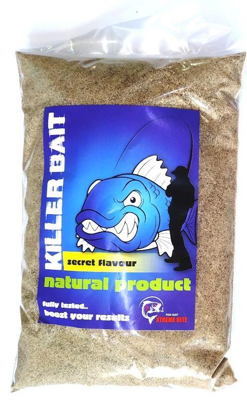 XTREME KILLER BAIT BROWN SECRET HERRING FISH 1Kg
