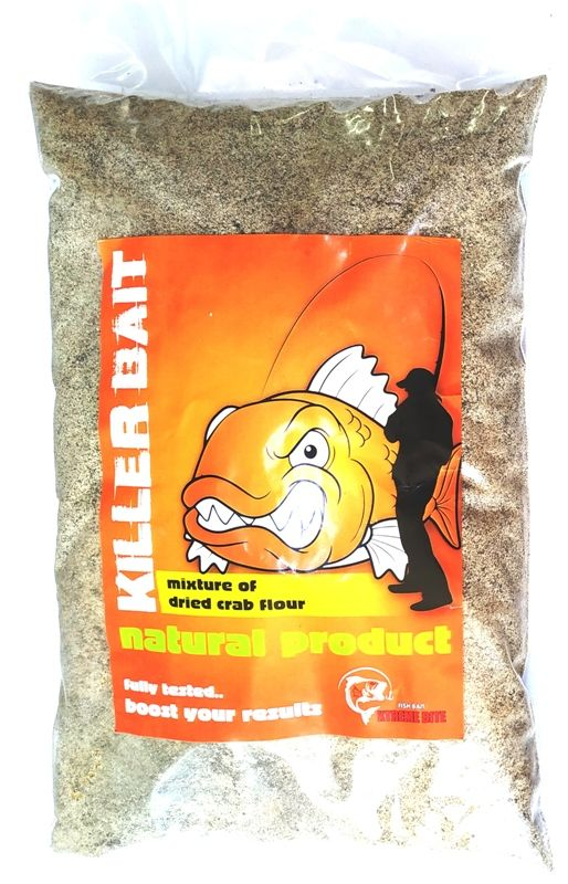 XTREME KILLER BAIT MIXTURE OF DRIED CRAB 1Kg