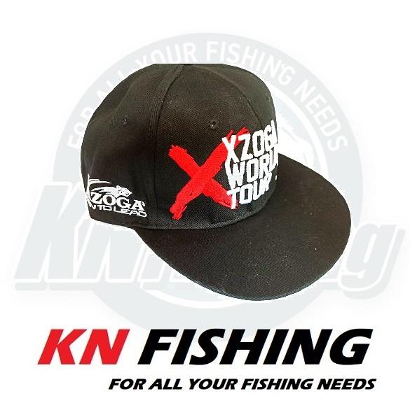 XZOGA ORIGINAL WORLD TOUR FISHING CAP JAPAN - Black