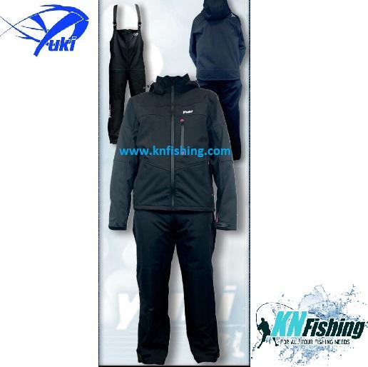 YUKI COMPLETE SOFTSHELL FISHING CLOTHING - XL