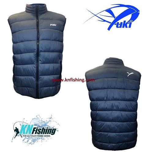 YUKI EQ16 WAISTCOAT FISHING JACKET CLOTHING - Medium