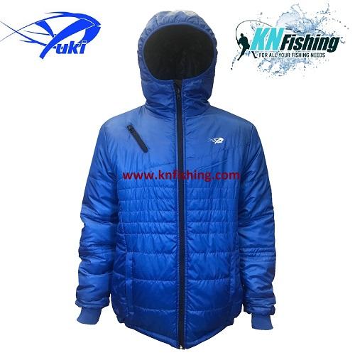 YUKI EQ24 REVERSIBLE FISHING JACKET CLOTHING - 2 Xtra Large