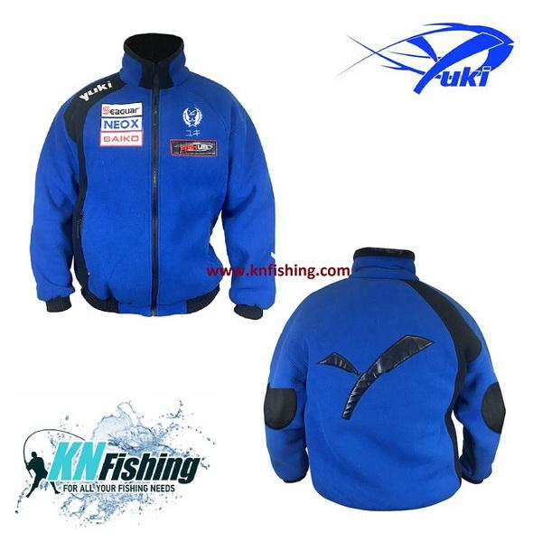 YUKI EQ50 DOUBLE POLAR FLEECE FISHING CLOTHING - Medium