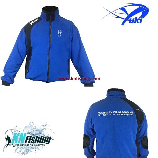 YUKI EQFP POLAR FISHING FLEECE CLOTHING - Large