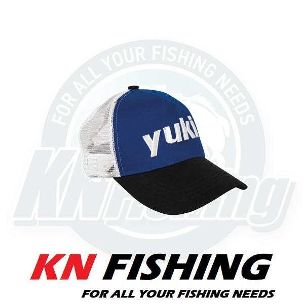 YUKI MESH LUX FISHING CAP WITH YUKI LOGO