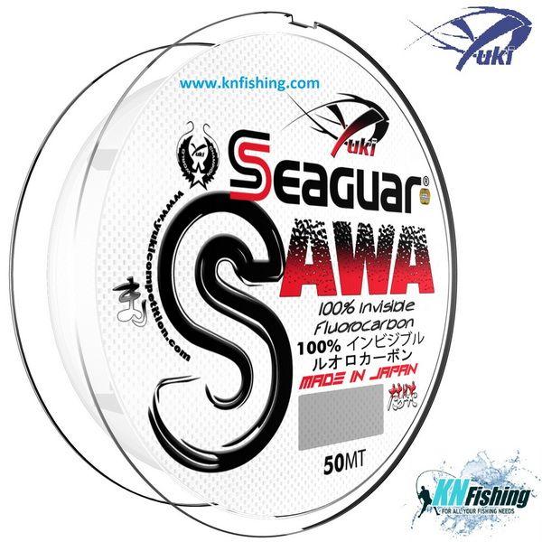 YUKI SEAGUAR SAWA FLUOROCARBON LINE 50m - 0.30mm