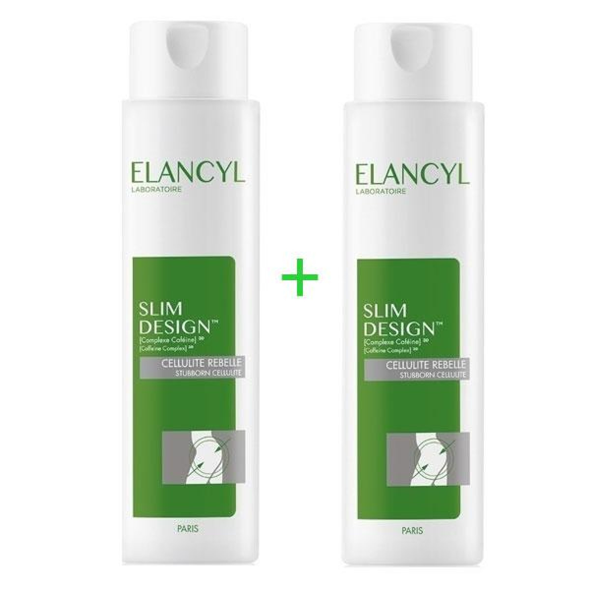 Elancyl Slim Design Cellulite Rebelle 200ml+ 200ml (Double Package -30%)