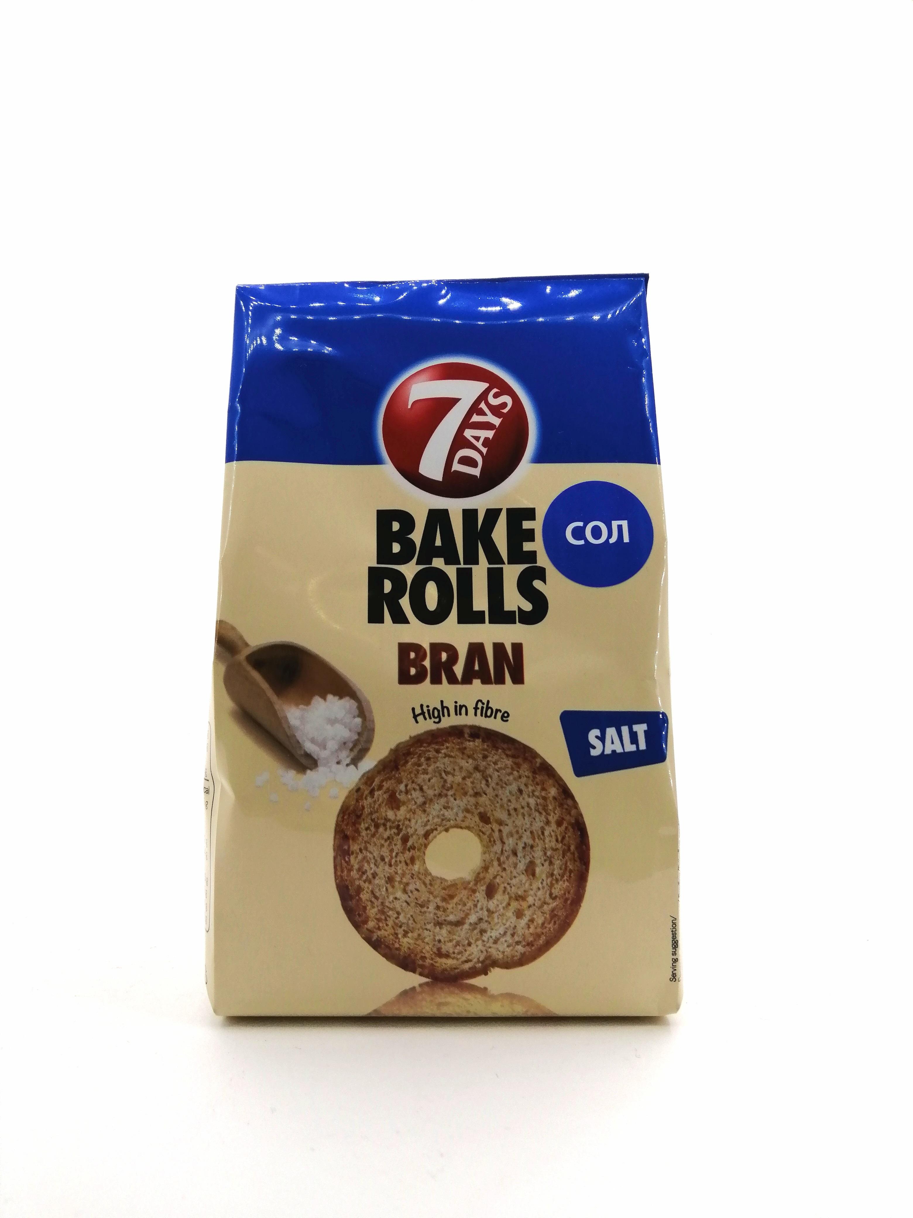 7D BAKE ROLLS BRAN SALT 80GR
