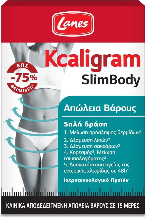 Lanes Kcaligram SlimBody 60caps