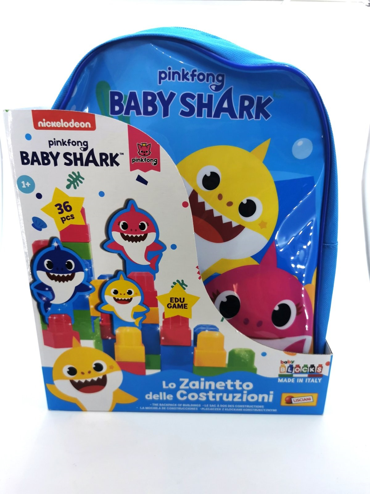 RF BABY SHARK BABY BLOCK BACK PACK