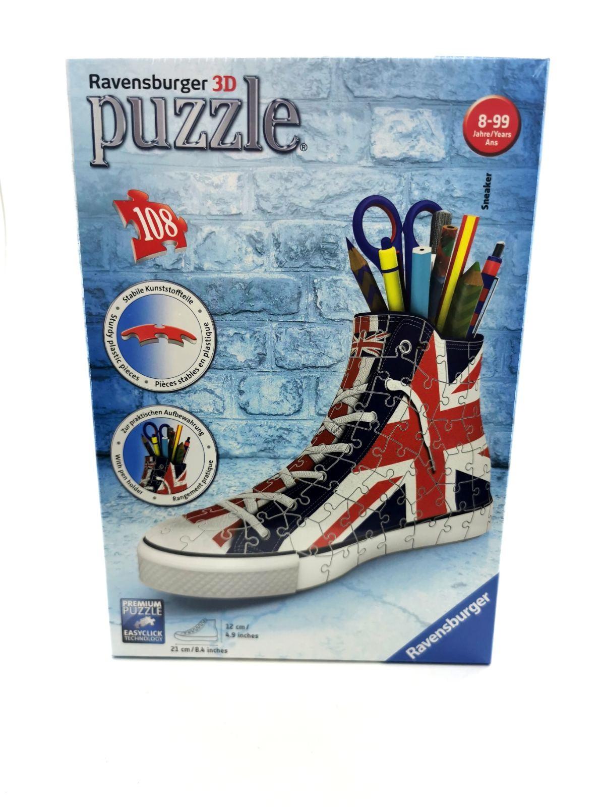 RAVENSBURGER PUZZLE 3D UK FLAG