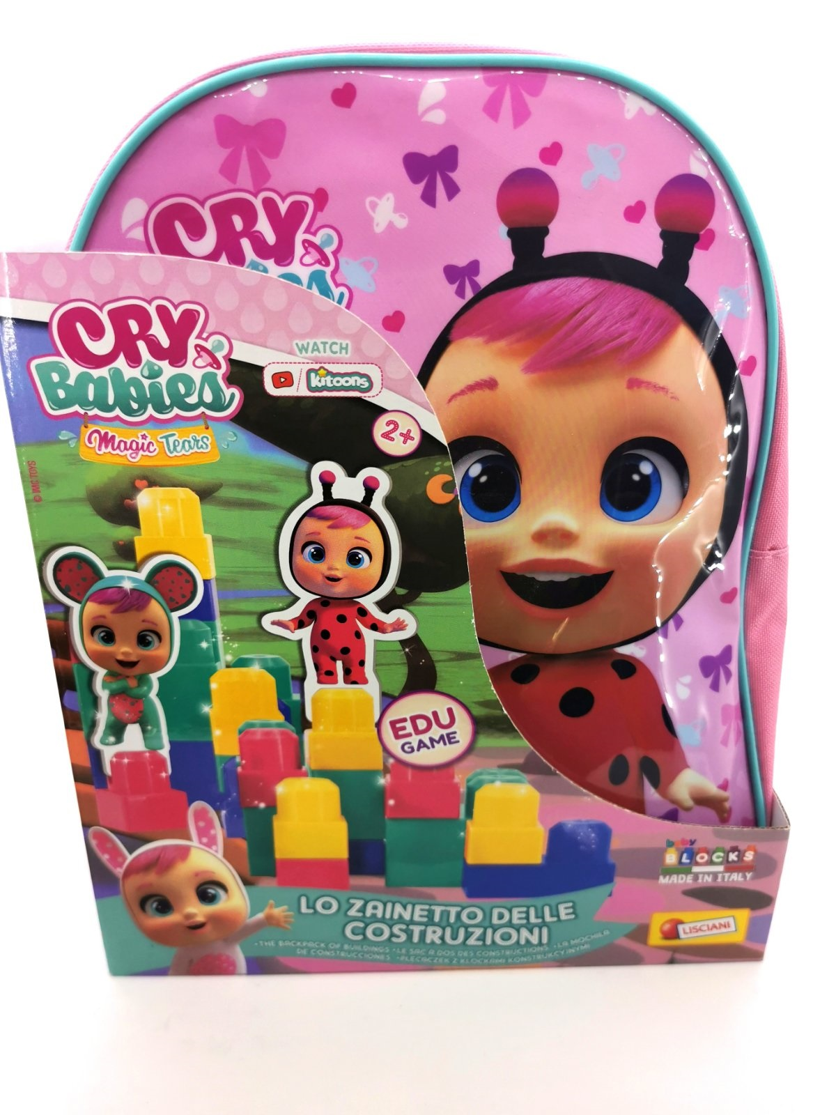CRY BABIES BABY BLOCKS BACK PACK