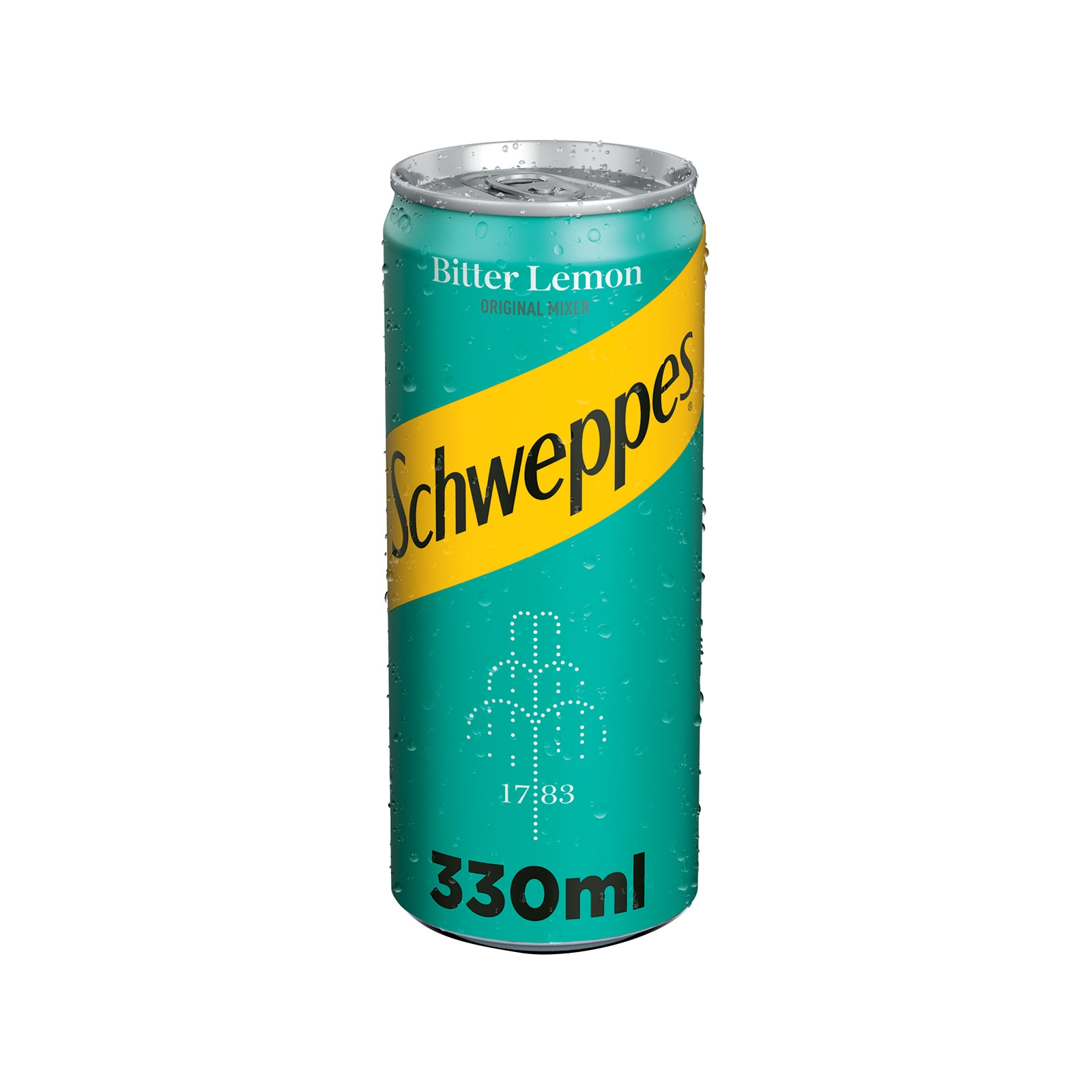 SCHWEPPES BITTER LEMON 330ML