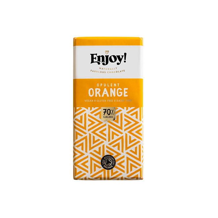 Enjoy- Opulent Orange Chocolate Bar 70g