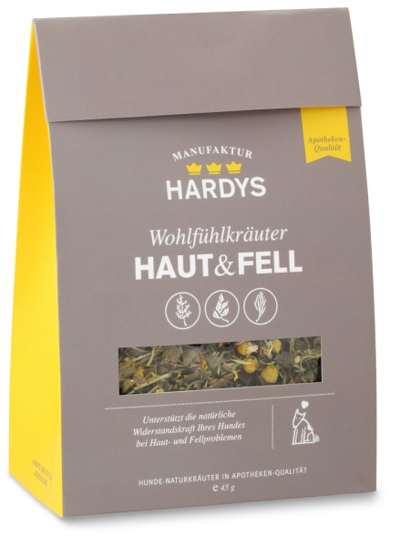 HARDYS MANUFAKTUR SKIN & COAT  - 45G