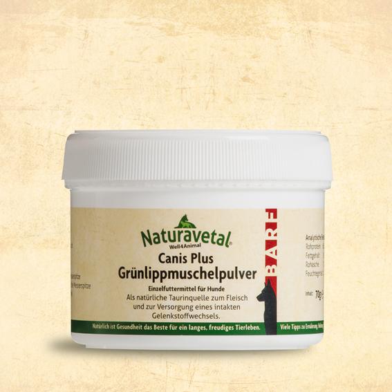 NATURAVETAL GREEN LIPPED MUSSEL POWDER - 70G