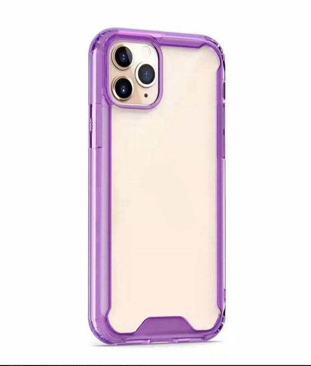 COLOR BUMPER CASE 12 Pro Max - purple