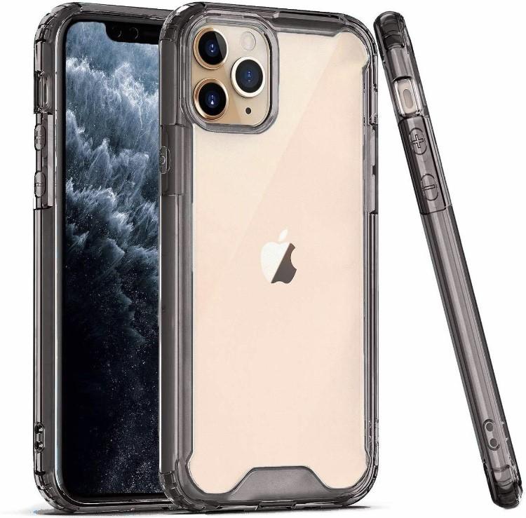 COLOR BUMPER CASE iPhone 12 Mini - black