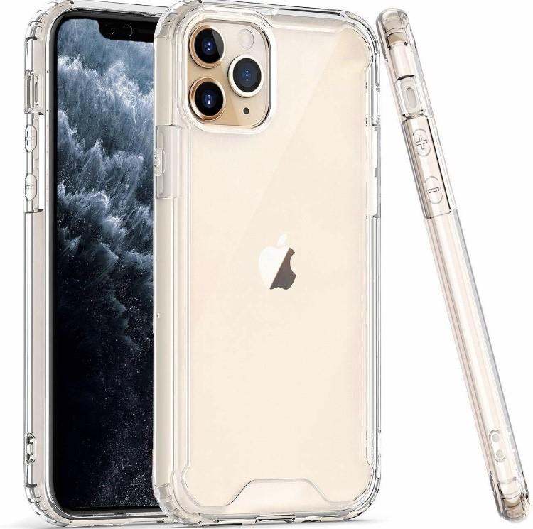 COLOR BUMPER CASE iPhone 12 Mini - clear