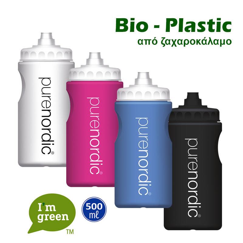 BIO PLASTIC WATER BOTTLE 500ML
