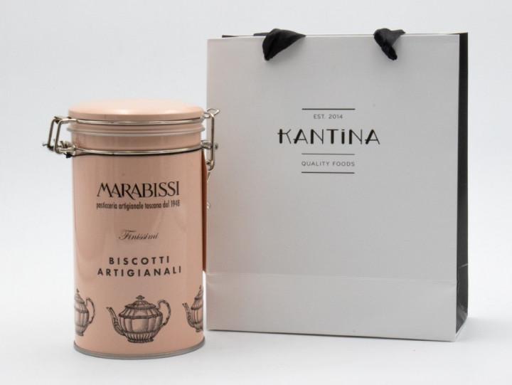 MARABISSI Biscotti Cioccolato e Sale 200g in gift bag