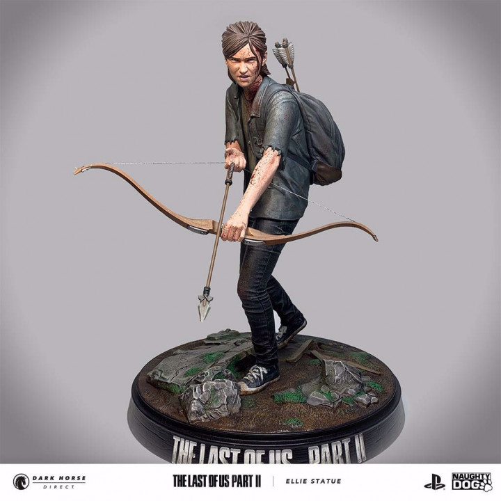 The Last of Us: Part 2 - Ellie with Bow Statue (20cm)