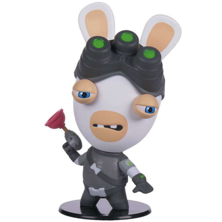 Heroes collection Rabbids Sam Fisher - UBISOFT COLLECTIBLES