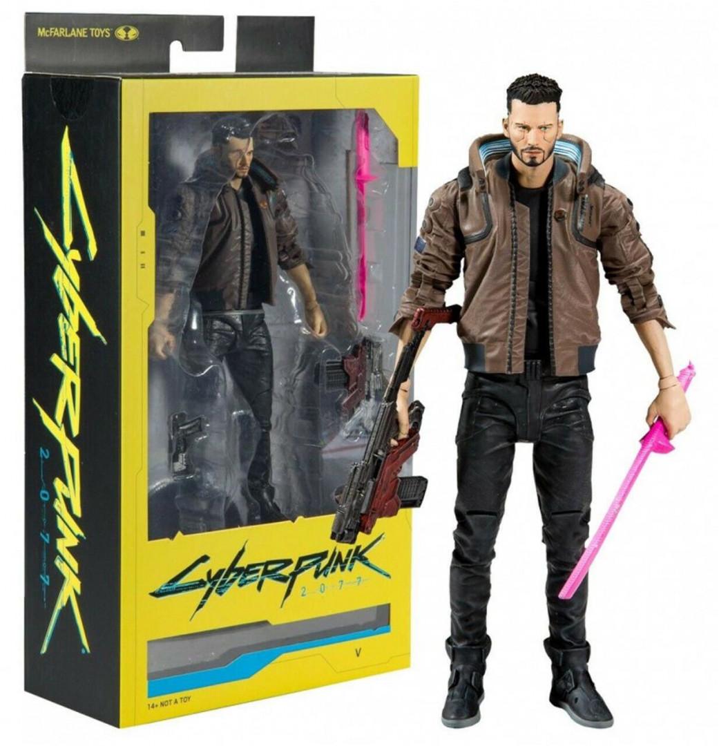 McFarlane Cyberpunk 2077 - V Male Action Figure (18cm)