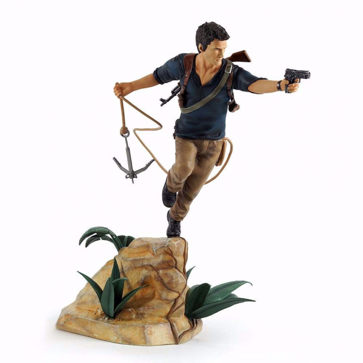 Uncharted - Nathan Drake Statue 30cm