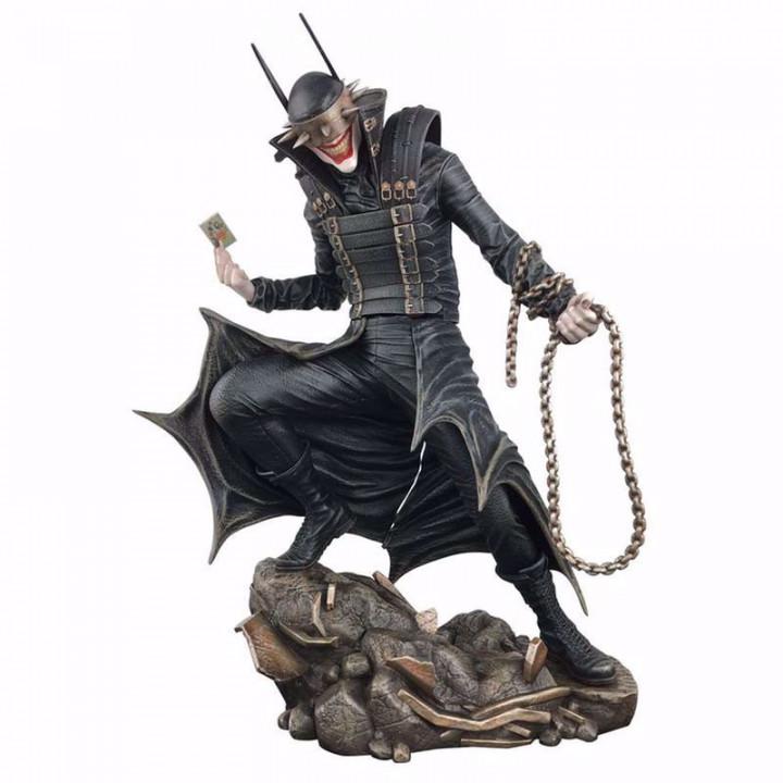 Diamond Select Toys DC Gallery - Comic Batman Who Laughs PVC Statue