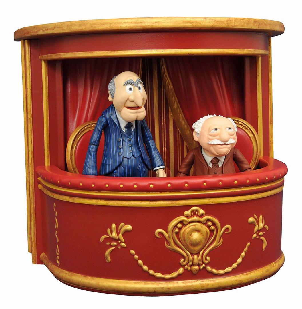 Muppets Select - Statler & Waldorf 2-Pack Action Figures